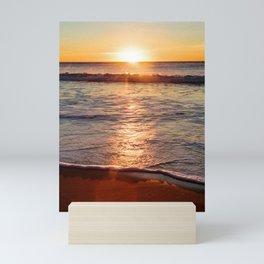 Sunset on the Big Blue Mini Art Print