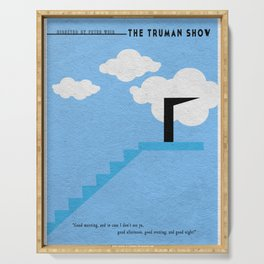 The Truman Show Serving Tray