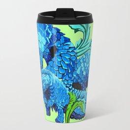 Floral Pangolins Travel Mug