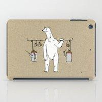 polar bear iPad Cases featuring Polar bear by Madmi