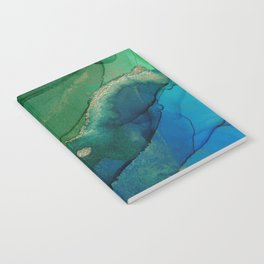 Ocean gold Notebook