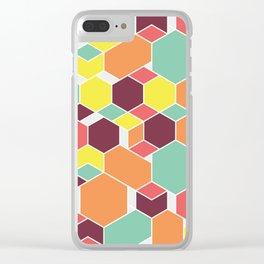 Hex P II Clear iPhone Case