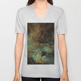 Gamma Cygni Nebula Unisex V-Neck