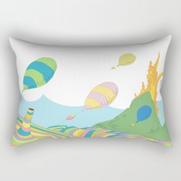 oh the places you'll go .. dr seuss Rectangular Pillow