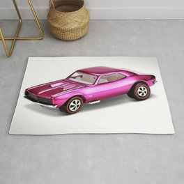 Hot Wheels RLC 427 SS Pink Pony Car 67 Redline Rug