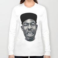 tyler the creator Long Sleeve T-shirts featuring IFHY (Tyler the creator) by Black Neon