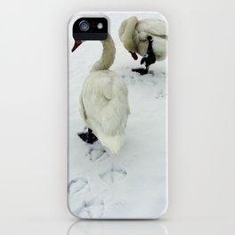 Goose Tracks iPhone Case