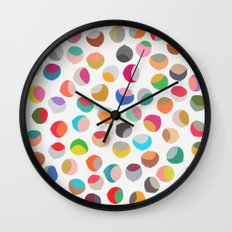 painted chestnuts 1 Wall Clock