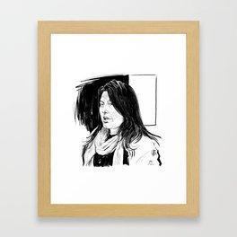 Sharmeen Obaid-Chinoy (filmmaker) Framed Art Print