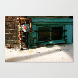 We don't even lock the doors... Canvas Print