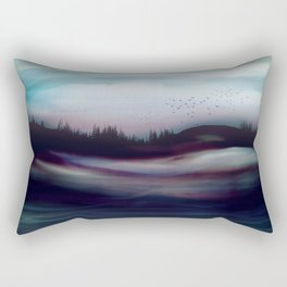 Winter Dawn Rectangular Pillow