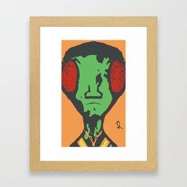 BUGGED O U T Framed Art Print