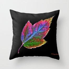 New Leaf Throw Pillow