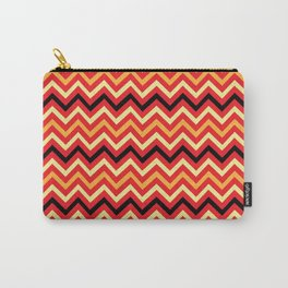Fire Chevron Carry-All Pouch