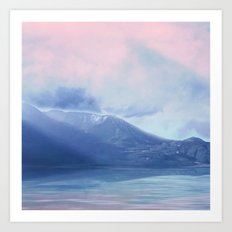 Pastel vibes 60 Art Print