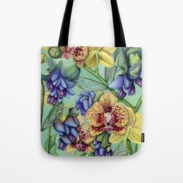 Lost Wing In Bloom Tote Bag