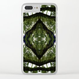 Tillandsia in the Sky with Diamond Clear iPhone Case
