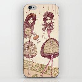 Two girls iPhone Skin