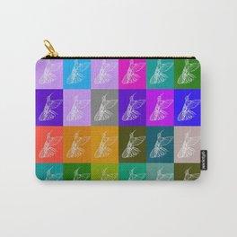 Rainbow Hummingbirds Carry-All Pouch