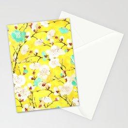 Cherry Blossom #society6 #painting #buyart Stationery Cards
