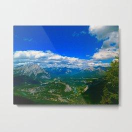 Banff Gondola View Metal Print