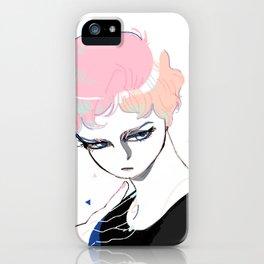 Glass Eyed Boy iPhone Case