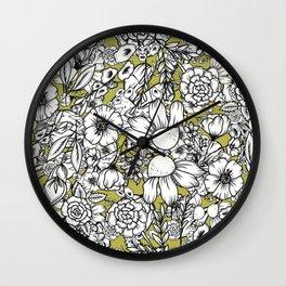 Petal Pops Wall Clock