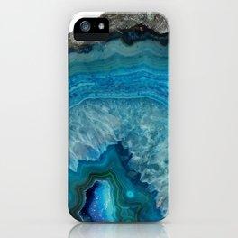 Agate stone iPhone Case