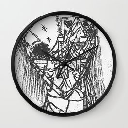 """""""RED DEAD!"""" Black & White Edition Wall Clock"""