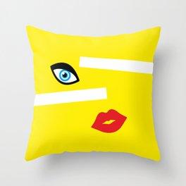 Vivid Beauty Throw Pillow