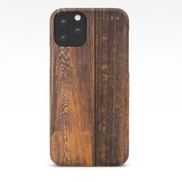 Old wood texture iPhone Case