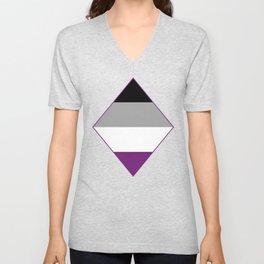 Asexual Diamond Unisex V-Neck