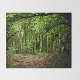 Glade of my Dreams  Throw Blanket
