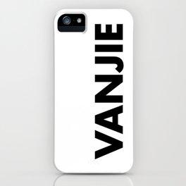 VANJIE iPhone Case