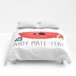 Ahoy Mate-tea! Comforters