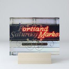 Portland Saturday Market Mini Art Print