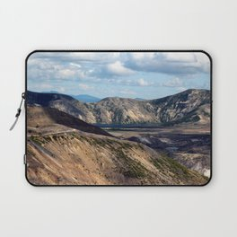 Lake and mountain view near Johnston's Ridge, either Coldwater Lake or Clearwater Lake Laptop Sleeve