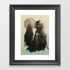 Come to the Dark Side Framed Art Print
