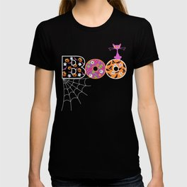 Halloween Boo Text Cute Design Great Gift T-shirt