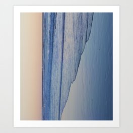 Sunset Ocean Art Print