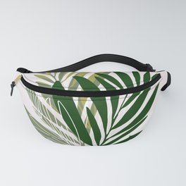 Olive Branches / Contemporary Botanical Art Fanny Pack