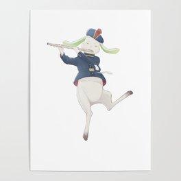 rabbit musician Poster