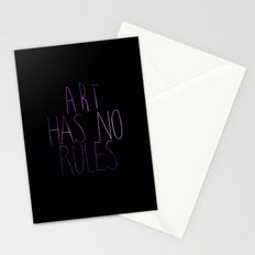 ART Rules Stationery Cards