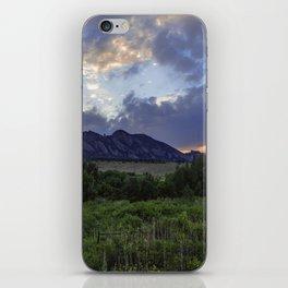South Boulder Sunset Vista iPhone Skin