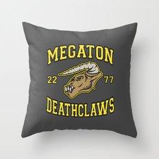 Megaton Deathclaws Throw Pillow