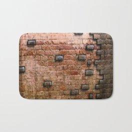 Airbrushed Bricks Bath Mat