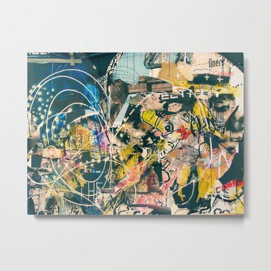 Graffiti is Art (Abstract) Metal Print
