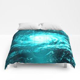 WaTeR Aqua Turquoise Hurricane Comforters