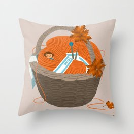Nest Throw Pillow