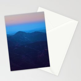 Spain Sunset Fog Stationery Cards